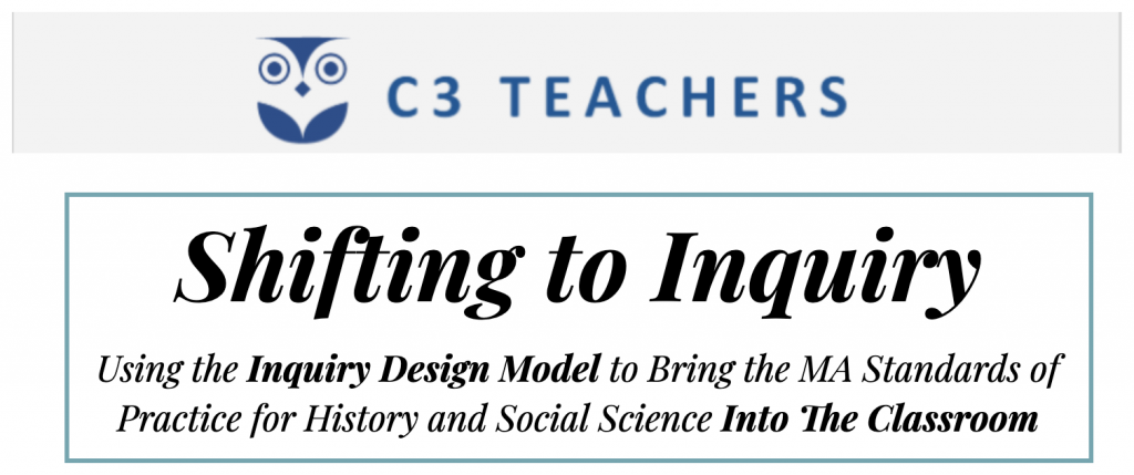 C3 Teachers: Shifting to Inquiry / Burlington High School