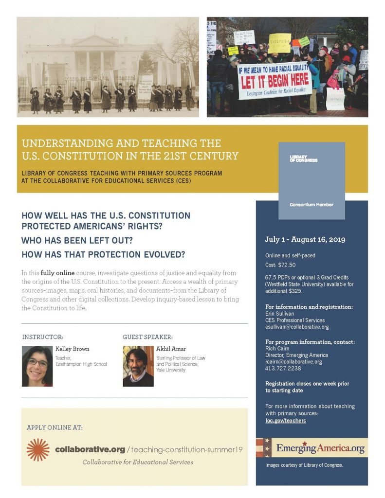 Understanding and Teaching the U.S. Constitution in the 21st Century